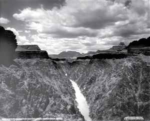 "Henry Peabody's photo, ""Down Granite Gorge, from Grand View Trail"" (1899)"